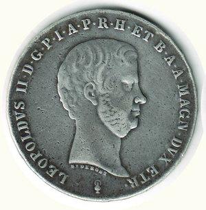 obverse: FIRENZE - Leopoldo II - Francescone 1846