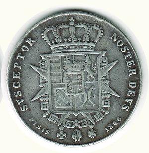 reverse: FIRENZE - Leopoldo II - Francescone 1846