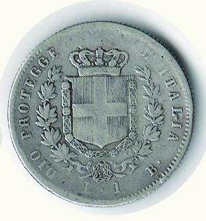 reverse: REGNO D ITALIA Vitt. Em. II re eletto Lira 1859