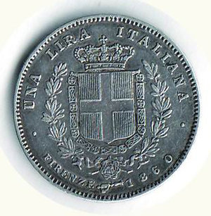 reverse: Vittorio Emanuele II - Re eletto - 1 Lira 1860