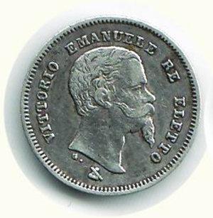 obverse: VITTORIO EMANUELE II - 50 Cent. 1860 - FI