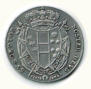 reverse: FIRENZE - Leopoldo II - 1/2 Francescone