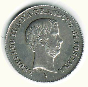 obverse: FIRENZE - Leopoldo II - Fiorino 1847