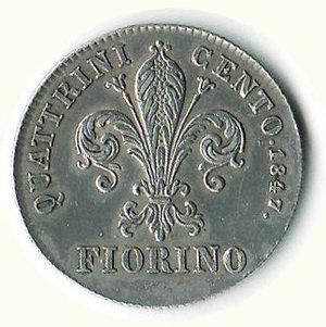 reverse: FIRENZE - Leopoldo II - Fiorino 1847