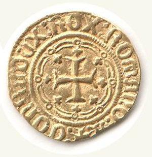 reverse: GENOVA - Galeazzo Maria Sforza (1466-1476) - Genovino
