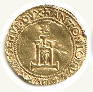 obverse: GENOVA - Antoniotto Adorno (1522-15227) - Scudo d oro del sole