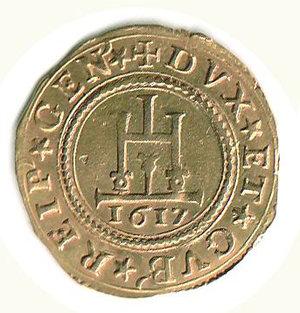 obverse: GENOVA - Dogi Biennali - Doppia 1617