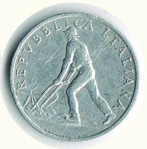 reverse: REPUBBLICA ITALIANA - 2 lire 1946