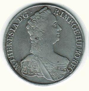obverse: AUSTRIA - Maria Teresa - Tallero 1765