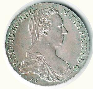 obverse: AUSTRIA M. Teresa - Tallero 1780