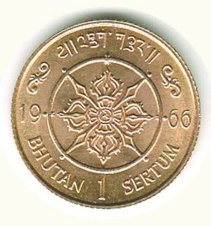 reverse: BUTHAN - Anniversario ascesa al trono