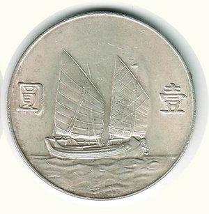 reverse: CINA - Dollaro Shanghai 1933