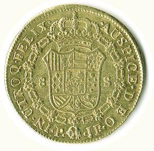 reverse: COLOMBIA - Carlo IV - 8 Escudos 1795