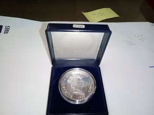 obverse: ISOLE COOK - 50 Dollars 1989