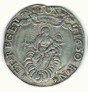 obverse: GENOVA - Scudo largo 1650