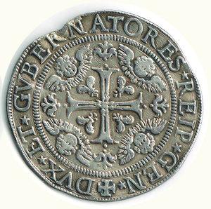 reverse: GENOVA - Scudo largo 1650