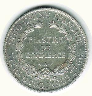 reverse: INDOCINA FRANCESE - Piastra di commercio 1907