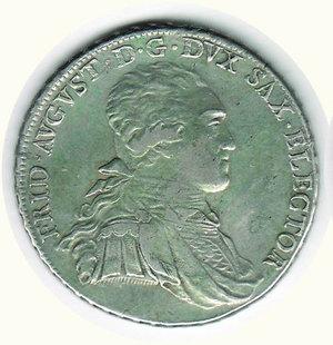 obverse: GERMANIA - Antichi Stati - Federico Augusto Elettore di Sassonia - Tallero 1793