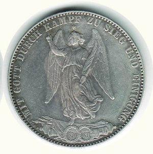 reverse: GERMANIA - Antichi Stati - Wurttemberg - Tallero 1871