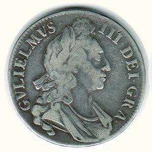 obverse: GRAN BRETAGNA - Guglielmo III - Corona 1696