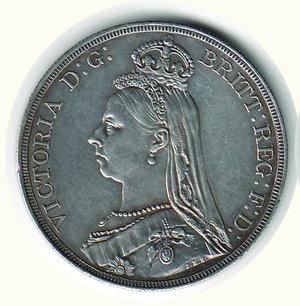 obverse: GRAN BRETAGNA - Vittoria - Corona 1887