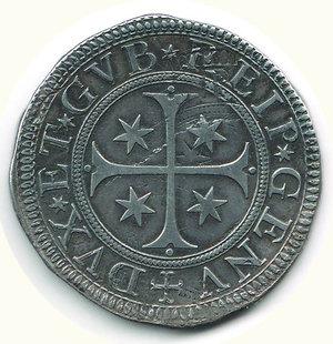 reverse: GENOVA - Scudo stretto 1680