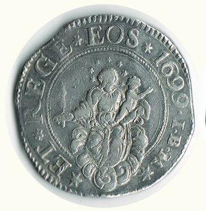 obverse: GENOVA - Scudo stretto 1699