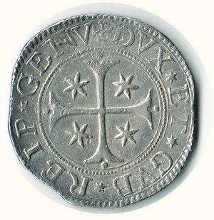 reverse: GENOVA - Scudo stretto 1699
