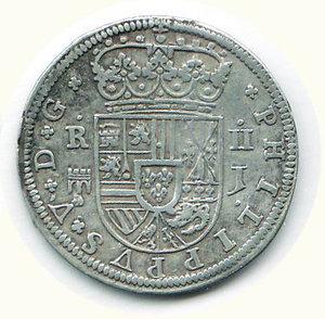 reverse: SPAGNA Filippo V 2 Reales
