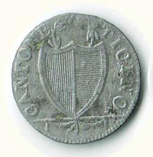 obverse: SVIZZERA Canton Ticino - 3 soldi 1813