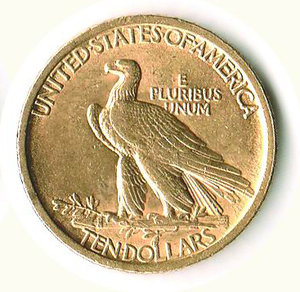reverse: USA - 10 Dollars 1907