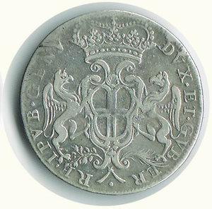 reverse: GENOVA - 2 Lire 1685