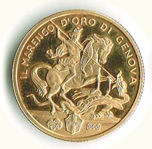 obverse: GENOVA - Il Marengo d oro di Genova