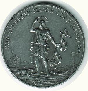 obverse: S. GIOVANNI BATTISTA - XIX cent. natività