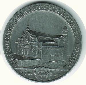 reverse: S. GIOVANNI BATTISTA - XIX cent. natività