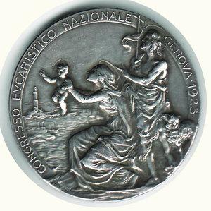 reverse: GENOVA - Congresso Eucaristico Nazionale