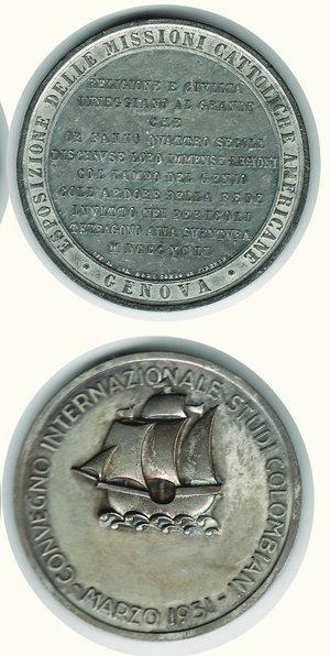 reverse: COLOMBO - 2 medaglie