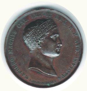 obverse: Napoleonica per la vittoria di Wagram 1809
