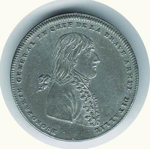 obverse: Napoleonica - All armata d Italia - 1796