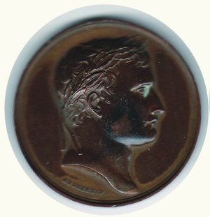 obverse: Napoleonica; D/ Busto laureato