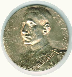 obverse: S.A.R. Il Duca degli Abruzzi 1900 - Johnson - diam. 80 mm.