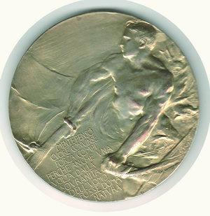 reverse: S.A.R. Il Duca degli Abruzzi 1900 - Johnson - diam. 80 mm.