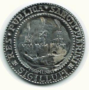 reverse: SAN MARINO Coniazione ufficiale di antichi sigilli dello Stato