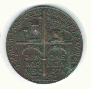 reverse: TRIESTERiunione Adriatica di Sicurtà