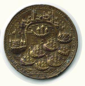 reverse: AMMIRAGLIO VERNON - Occupazione di Portobello 1739