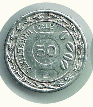 obverse: MOKA Termini - 50 centesimi