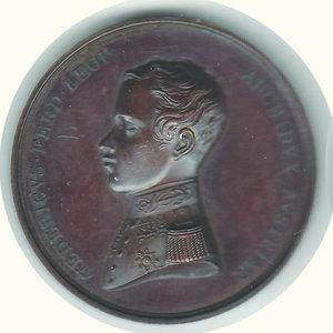 obverse: FEDERICO FERDINANDO L. arciduca d Austria - Sidone capta 1891