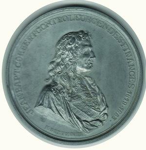 obverse: FRANCIA - J.B. Colbert - Ministro delle Finanze 1619-1683