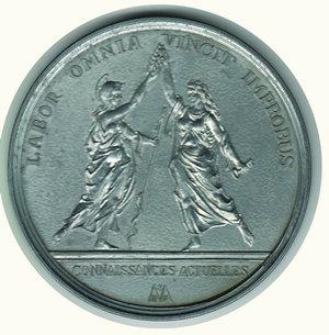 reverse: FRANCIA - J.B. Colbert - Ministro delle Finanze 1619-1683