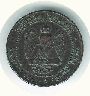 reverse: FRANCIA - Napoleone III - Gettone satirico